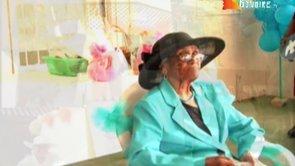 Raymunda Virginia Pourier a kumpli 100 aña