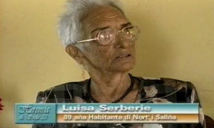 Fuhikubo ta presentá: Luisa Serberie