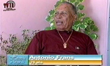Fuhikubo ta presentá: Franciscus Antonio (Toni) Frans