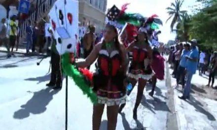 Fuhikubo ta presentá: marcha di Karnaval Grandi 2014