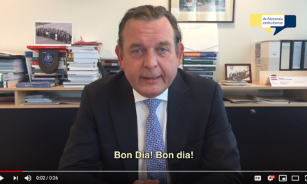 NATIONALE OMBUDSMAN, REINIER VAN ZUTPHEN, DI BISHITA NA BONAIRE