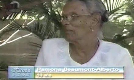 Fuhikubo ta presentá: Petra Ramona Beaumont-Alberto