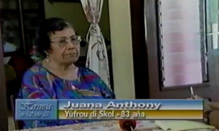 Fuhikubo ta presentá: Juana Anthony