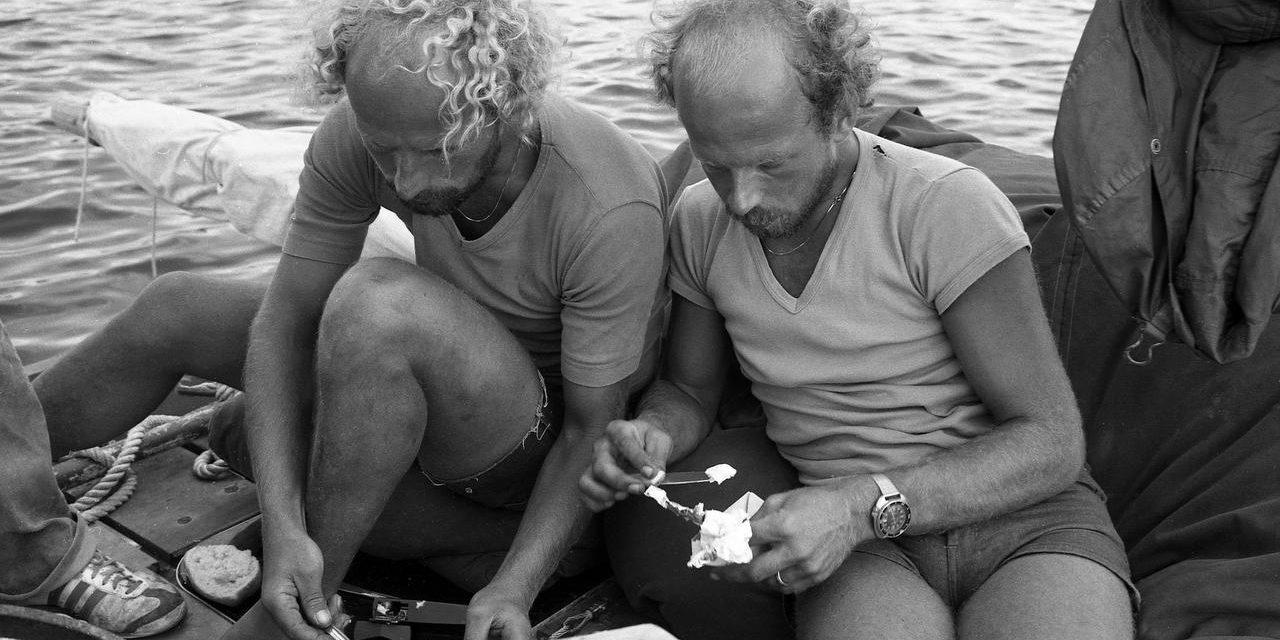 Aftrap Sterke Yerke IV tijdens herdenking stranding Sterke Yerke III